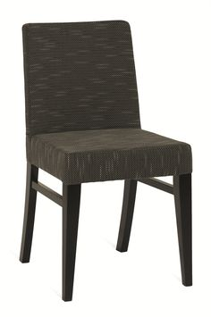 For customers who love comfort and tradition, this is the perfect chair. Fully upholstered seat, back and arms on neat, tapered legs with side stretchers. The wood is harvested responsibly from managed forests Restaurant Bar, Side Chairs, Accent Chairs, Wood, Furniture, Design, Home Decor, Upholstered Chairs, Woodwind Instrument