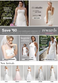 Find Beautiful Unique Wedding Dresses Or Ones From Major Designers David S Bridal Carries A
