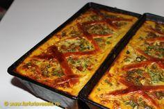 Drob cu ficat de pui Romanian Food, Lasagna, Quiche, Chicken, Breakfast, Ethnic Recipes, Traditional, Drink, Honey