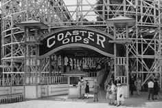 Glen Echo Coaster Dips Roller Coaster 4x6 Reprint Of Old Photo