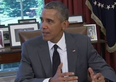 """President Obama Tears Boehner And McConnell A New One At Highway Bill Signing --- """"we have now made it a habit where instead of 5-year funding plans for transportation... we operate as if we're hand to mouth 3 months at a time, which freezes a lot of construction, which makes people uncertain, which leads to businesses not being willing to hire bc they don't have any long-term certainty. It's a bad way for the U.S. govt to do business""""... (Video + article)"""