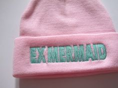 pink and green forever. #ExMermaidFashion