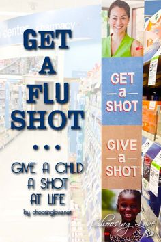 Get a flu shot and give a child a shot at life #GiveAShot #cbias