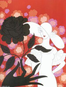 Black Rose - (Erté (Romain De Tirtoff))
