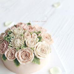 핑크핑크한 웨딩케이크 프로포즈케이크…
