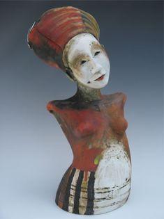Sally MacDonell - ceramic figure