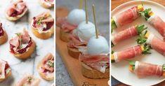 30 receptů na úžasné jednohubky: klasické, rychlé, zdravé, veganské i luxusní Tuna, Sushi, Meat, Ethnic Recipes, Food, Food Dinners, Essen, Meals, Yemek