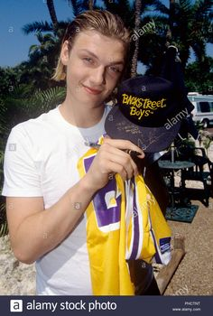 Stock Photo - Nick Carter on in Tampa. Cute Boys, Cute Babies, Alicia Silverstone, Nick Carter, Blonde Boys, When You Smile, 90s Hairstyles, Backstreet Boys, Celebrity Crush