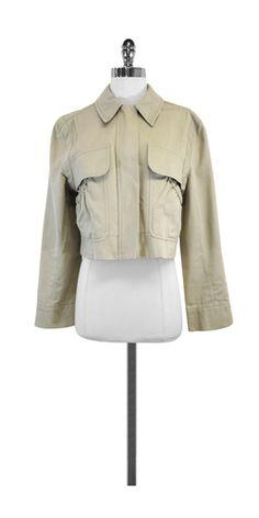 Prada Khaki Cotton Jacket