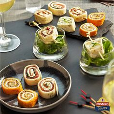 #missionwraps #wraps #food #inspiration #meal #party #fingerfood #snack #friends #healthy www.missionwraps.fr