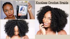 Quick & Simple Crochet Braids (Knotless Method) [Video] Read the article here - http://www.blackhairinformation.com/video-gallery/quick-simple-crochet-braids-knotless-method-video/