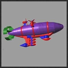 Command & Conquer: Red Alert 2 - Kirov Airship Ver.2 Free Paper Model Download - http://www.papercraftsquare.com/command-conquer-red-alert-2-kirov-airship-ver-2-free-paper-model-download.html