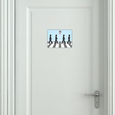 "Toilet M+F ""Abbey Road"""