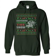 Dachshund Through The Snow T Shirts, Hoodies. Check price ==► https://www.sunfrog.com/Pets/Dachshund-Through-The-Snow-Forest-73282876-Hoodie.html?41382