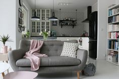 Sofa, Couch, Teak, Sweet Home, Furniture, Interiors, Home Decor, Living Room, Settee