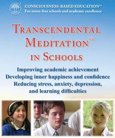 Introduction to the use of Transcendental Meditation in schools
