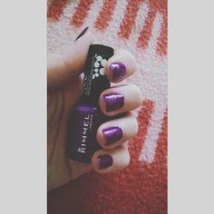 #nails #nailart #instanail #manicure #nailstagram #nailgame #nailswag #nail💅 #nailpolishaddict #nailartoftheday #nailsdone #naildesigns #nailaddict #nailpolish #rimmellondon #purple #purplenails #blog #blogpost #blogging