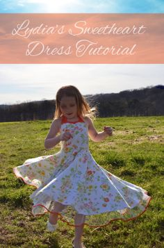 Lydia's Sweetheart Dress Tutorial