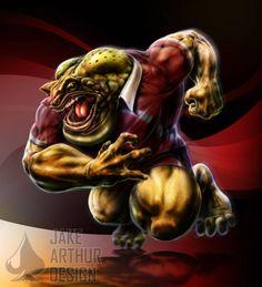 Cane Toad - QLD State of Origin by JakeArthurDesign on DeviantArt Rugby League, Rugby Players, Canterbury Bulldogs, Brisbane Broncos, Kiss Emoji, Nba Sports, Queenslander, Diamond Art, Art Logo