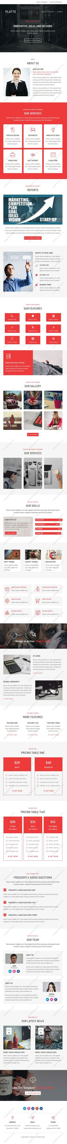 Chatter  Responsive Email Template  Pennyblack Templates