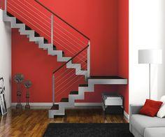 resultado de imagen para escaleras metalicas modernas interiores escaleras pinterest