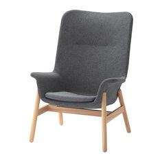 online shopping for Ikea Armchair, Gunnared dark gray from top store. See new offer for Ikea Armchair, Gunnared dark gray Design Ikea, Ikea Armchair, Blue Armchair, Ikea Daybed, High Back Armchair, Ikea Family, Fabric Armchairs, Shoe Cabinet, Wing Chair