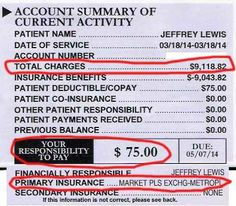 Politics with Jarred and Dave shared Jeffrey Lewis's photo: THANKS TO OBAMA my recent surgery bill looks like this. As a musician I never had health insurance before in my life but now I do; and just in time. If anybody EVER tells you voting doesn't matter, imagine if I had needed this surgery and Mitt Romney was president right now??