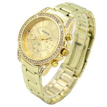 Hot Sales Popular Bling Business Lucury Design Dial Crystal Stainless Steel Analog Quartz Alloy Ladies Wrist Watch  5V8N //Price: $US $2.93 & FREE Shipping //     Bling Business Lucury Design Dial Crystal Stainless Steel Analog Quartz Alloy Ladies Wrist Watch  This quartz analog wrist watch is adorned with stainless steel, rhinestone and bling crystal, which is a perfect accessory for casual outfit from day to night.   Type: Wrist Watch  Movement: Quartz  Gender: Women's  Display: Analog…
