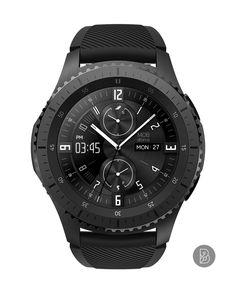 e04a59675b6 dino - Watch face for Samsung Gear S3   S2. Watchface by Brunen Relógios  Legais. Relógios LegaisRelógios De PulsoRelógios Para HomensRelógios ...