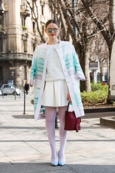 386c9c2aefb Streetlooks à la Fashion Week automne-hiver 2014-2015 de Milan Automne  Hiver 2014