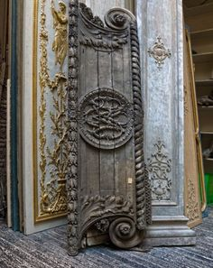 From an architectural salvage dealer in Atlanta.  Wish we had something like this in Denver!