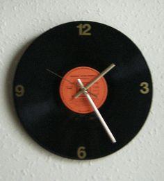 CBS 12 Diameter Vinyl Wall Clock by Klicknc on Etsy