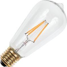 E27 Filament LED  RUSTIKA 3W 2500K 320Lm Dimbaar 15000 Uur