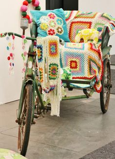 Yarn Bombing. This has got to be one of my favourites yet!