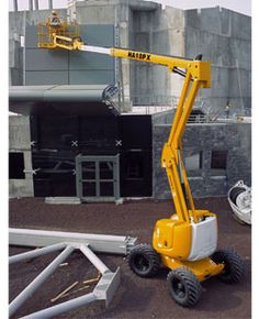 HA 51 JRT Articulating Boom Lift - http://www.buymanlifts.com/product/ha-51-jrt-articulating-boom-lift/