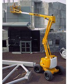 HA 51 JRT Articulating Boom Lift - http://www.buymanlifts.com/product/ha-51-jrt-articulating-boom-lift/