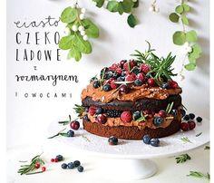 Słodkie ciasta ale z delikatną ziołową nutą. Zaskocz gości ciastem z szałwią, tymiankiem, bazylia tajską albo rozmarynem