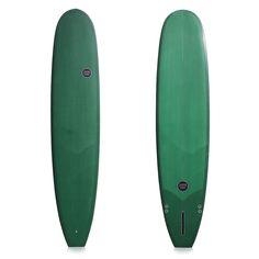 "WATERSHED SURFBOARDS CAPTAIN LONGBOARD 9'4"" BOTTLE GREEN RESIN TINT"