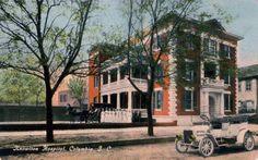 Knowlton Hospital on Marion St. forerunner of the Baptist Hospital.
