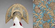 Headdress, early 19th century, Russian.