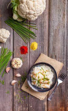 #Recipe: Vegan Creamy Mashed Cauliflower Recipe #VeganRecipes