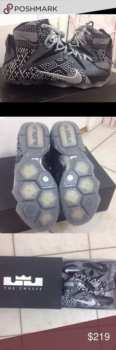 963ac802f162c LeBron 12 BHM DS Size 8 Rare Basketball Shoes Brand new never worn rare LeBron  12