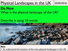 Physical Landscapes in the UK - Coasts. Full unit of work for the Coasts aspect of the UK Physical Landscapes module. Specifically designed for the new AQA A Geography GCSE but also suitable for Edexcel and OCR. All lesson are for 50 minutes to 1 hour of teaching time. Includes supporting worksheets for lessons - no additional resources are required.