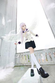 Kanade Tachibana from Angel Beats! cosplay || anime cosplay