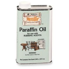 Paraffin Oil, Quart by Behlen. $13.99. A mineral oil used as a lubricant for rubbing with pumice or rottenstone. Saves both time and effort in the rubbing. Formulated with fine cutting oils.