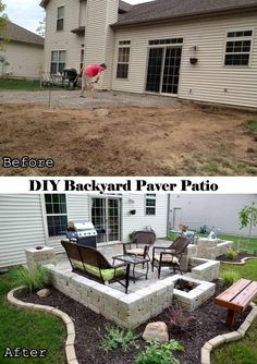 #31 DIY Backyard Paver Patio with (Tutorial Link) | 31 Insanely Cool Ideas to Upgrade Your Patio This Summer