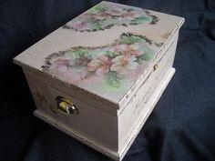 Wedding keepsake chest by HandmadeByFiona on Etsy, $95.00