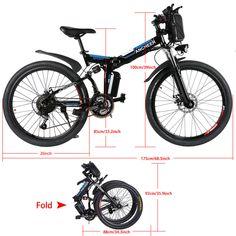 36V Electric Bicycle E-Bike 26