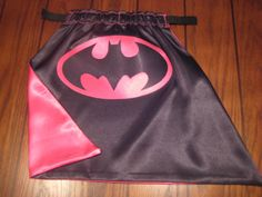 Batgirl cape - Sydney's Halloween costume?