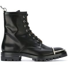 Alexander Wang combat boots (5,215 CNY) ❤ liked on Polyvore featuring shoes, boots, black, combat boots, army boots, black boots, military lace up boots and lace up boots